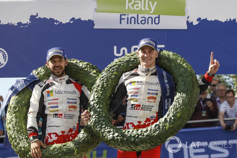 Ganadores Esapekka Lappi, Janne Ferm, Toyota Racing