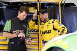 Matt Kenseth, Joe Gibbs Racing Toyota, crew chief Jason Ratcliff