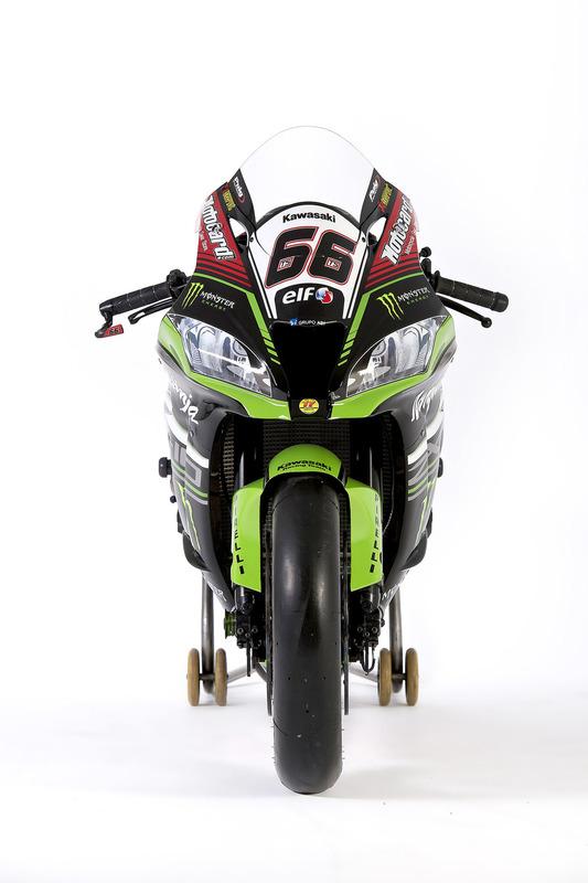 Moto de Tom Sykes, Kawasaki Racing, Ninja ZX-10RR