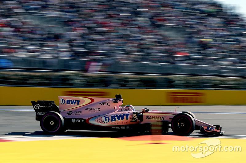 6. Серхио Перес, Force India