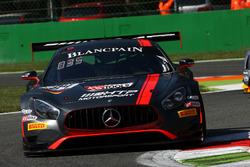#84 Mercedes-AMG Team HTP Motorsport, Mercedes-AMG GT3: Maximilian Buhk, Franck Perera, Jimmy Erikss