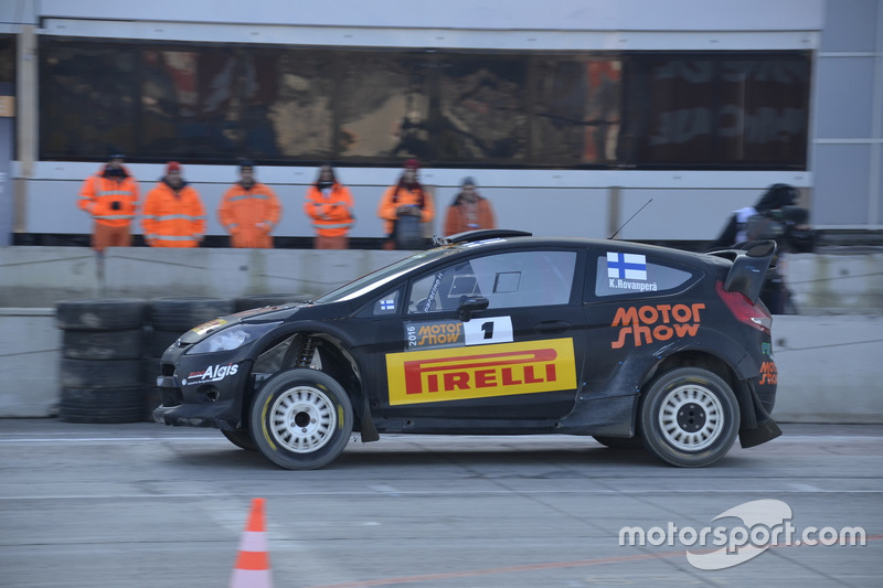 Kalle Rovanpera, Ford Fiesta WRC