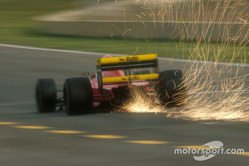 Funkenflug: Alain Prost, Ferrari 641