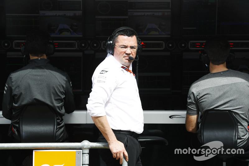 Eric Boullier, McLaren-Teamchef