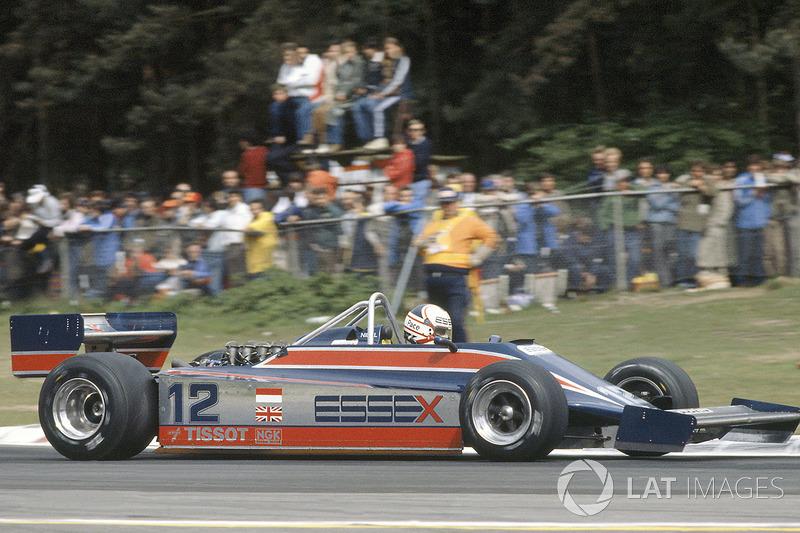 Zeltweg 1980: Fórmula debut 1 con Lotus