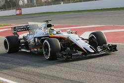Sergio Perez, Force India VJM10 Mercedes