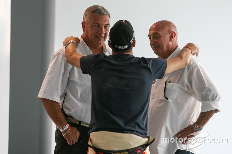 Mariano Werner, Werner Competicion Ford y Race Stewards Sergio Garone and Carlos Garrido