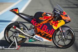 Bike of Bo Bendsneyder, Red Bull KTM Ajo