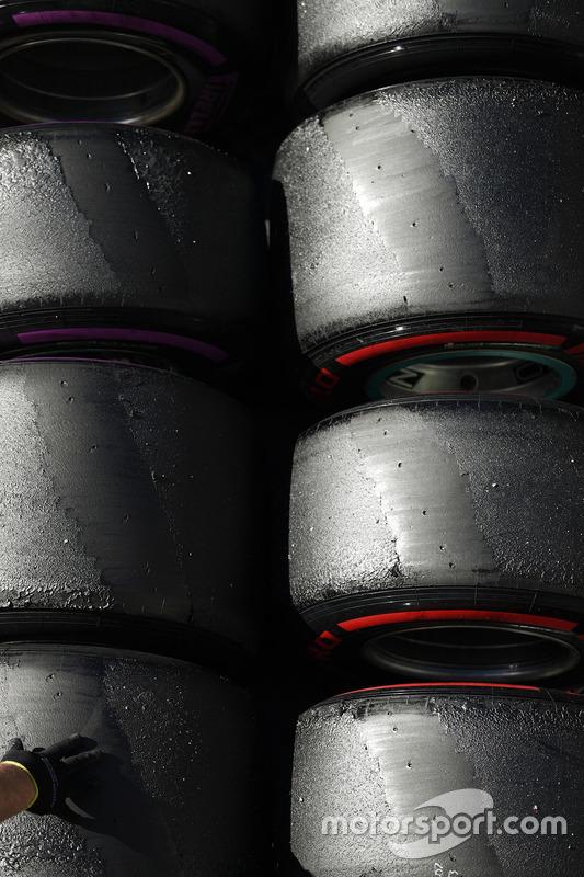 Pirelli-Reifen: Ultrasoft und Supersoft