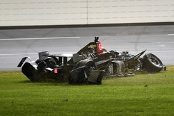 Crash de Josef Newgarden, Team Penske Chevrolet