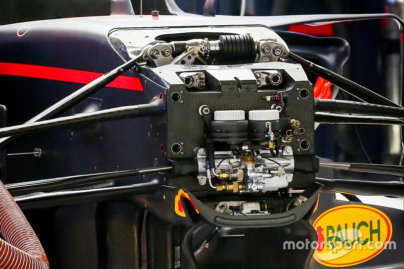Red Bull RB13: Luftleitbleche