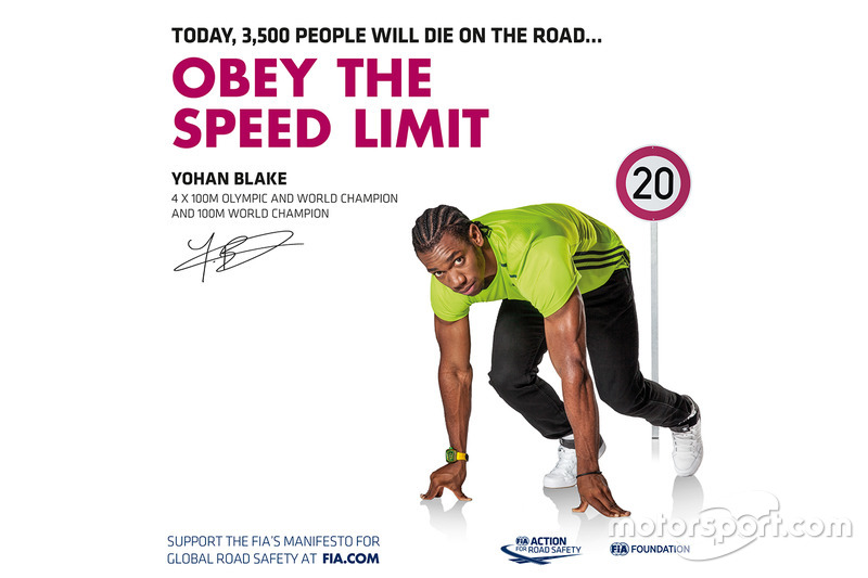 Yohan Blake, médaillé olympique 4x100m