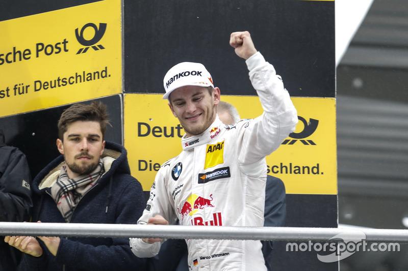 Podium: third place Marco Wittmann, BMW Team RMG, BMW M4 DTM