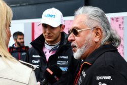 Esteban Ocon, Sahara Force India, Dr. Vijay Mallya, dueño de Sahara Force India Formula One Team