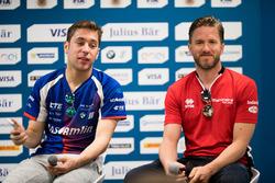 Conferenza stampa: Robin Frijns, Amlin Andretti Formula E Team,  Nick Heidfeld, Mahindra Racing