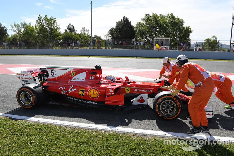 Себастьян Феттель, Ferrari SF70H