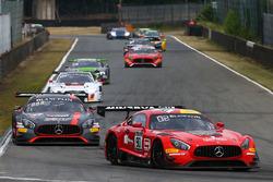 #90 Akka ASP, Mercedes AMG GT3: Michael Meadows, Raffaele Marciello