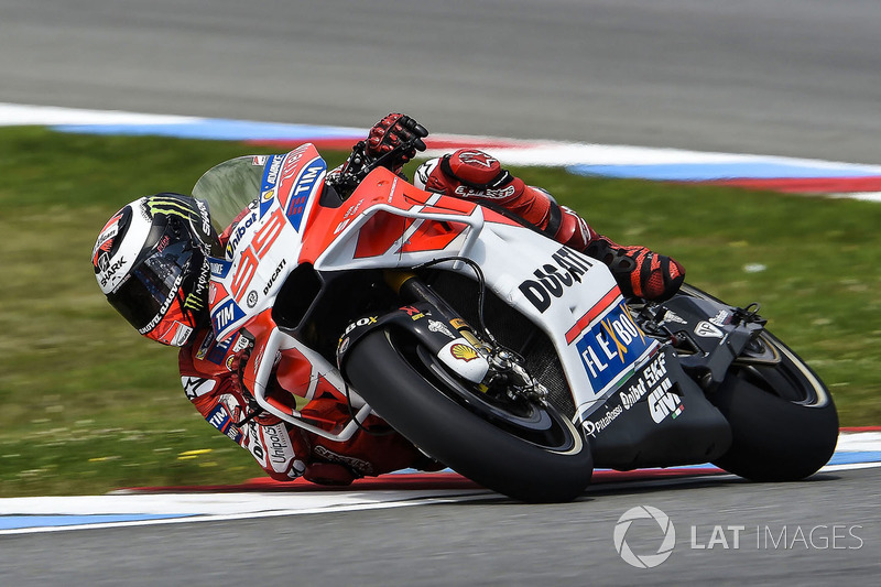 Jorge Lorenzo, Ducati Team, yeni grenajıyla