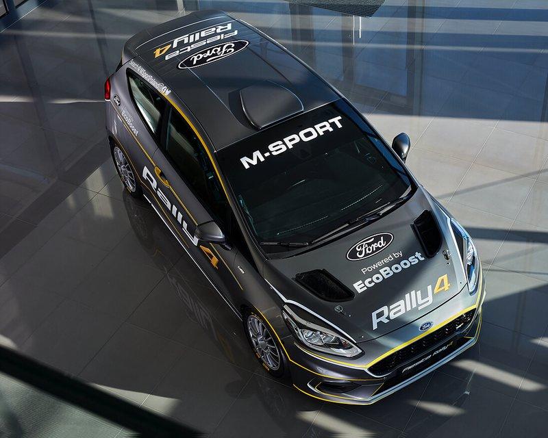 Presentazione Ford Fiesta Rally4