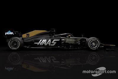 Haas F1 Team livery update
