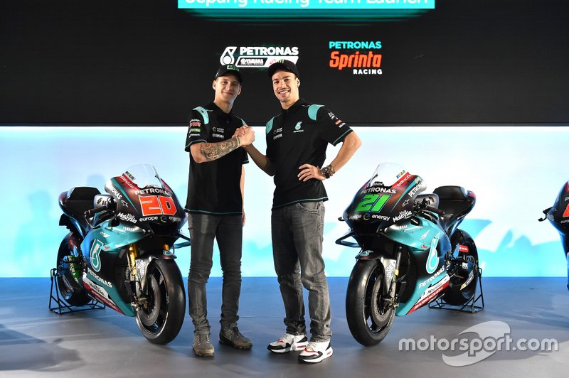 Fabio Quartararo, PETRONAS Yamaha Sepang Racing Team, Franco Morbidelli, PETRONAS Yamaha Sepang Racing Team