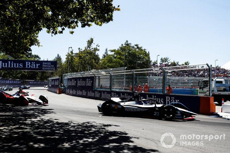 Sébastien Buemi, Nissan e.Dams, Nissan IMO1, Pascal Wehrlein, Mahindra Racing, M5 Electro
