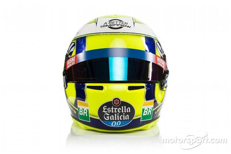 Lando Norris'in kaskı, McLaren
