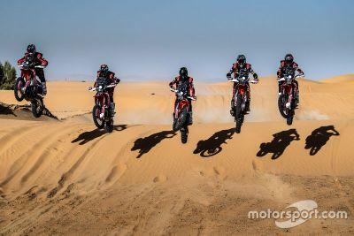 Monster Energy Honda Team - Prezentacja