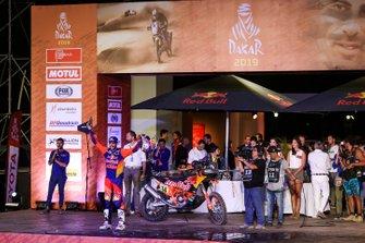 Podium: Red Bull KTM Factory Racing KTM: Sam Sunderland