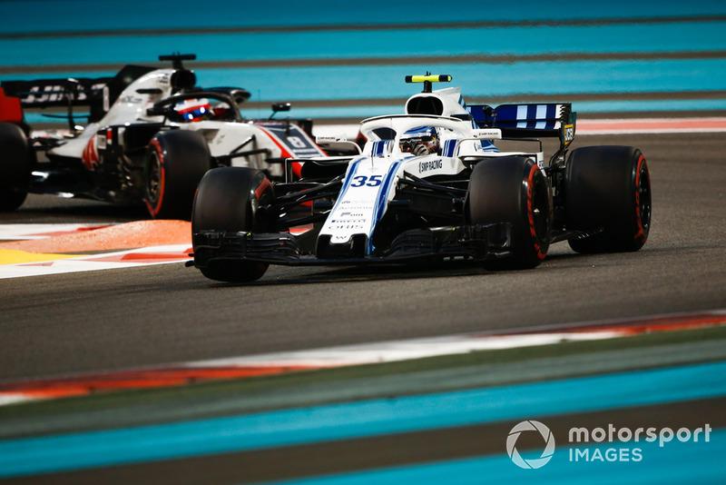 Сергій Сироткін, Williams FW41, Ромен Грожан, Haas F1 Team VF-18