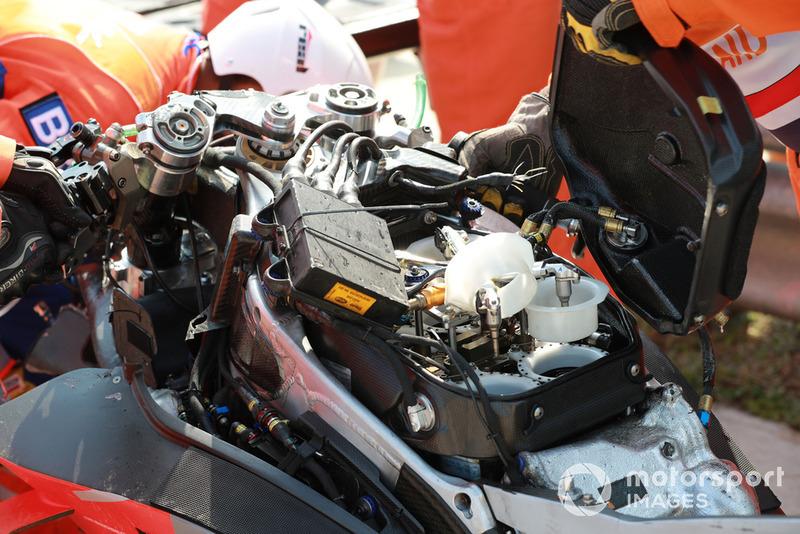 Kerusakan motor Jorge Lorenzo, Ducati Team
