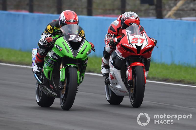 Ahmad Yudhistira, Manual Tech KYT Kawasaki dan Andi Gilang, Astra Honda Racing Team