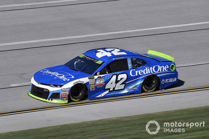 34. Kyle Larson, Chip Ganassi Racing, Chevrolet Camaro Credit One Bank