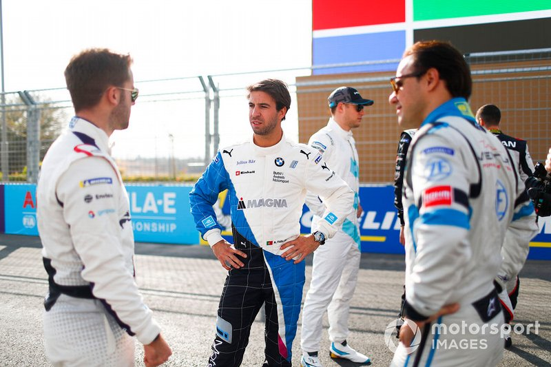 Robin Frijns, Envision Virgin Racing, Antonio Felix da Costa, BMW I Andretti Motorsports, Felipe Massa, Venturi Formula E