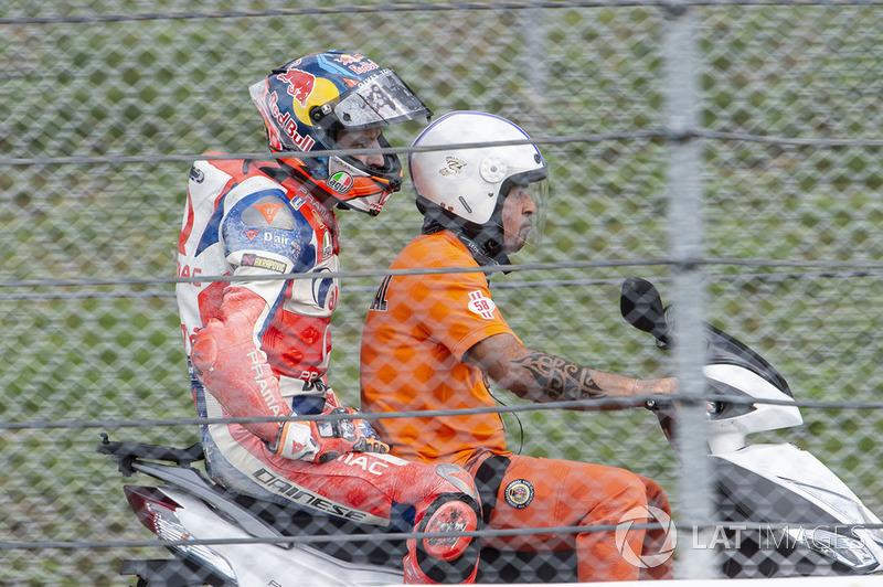 Джек Міллер, Pramac Racing, після аварії