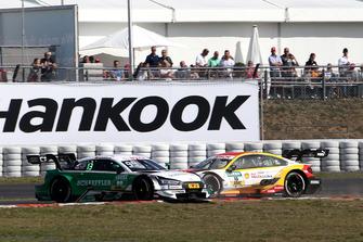 Crash, Mike Rockenfeller, Audi Sport Team Phoenix, Audi RS 5 DTM, Augusto Farfus, BMW Team RMG, BMW M4 DTM