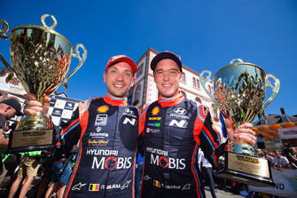Tweede Thierry Neuville, Nicolas Gilsoul, Hyundai i20 WRC, Hyundai Motorsport