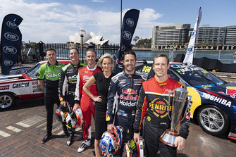 David Reynolds, Erebus Motorsport, Craig Lowndes, Triple Eight Race Engineering, Jamie Whincup, Triple Eight Race Engineering, Will Davison, 23Red Racing, Mark Winterbottom, Tickford Racing