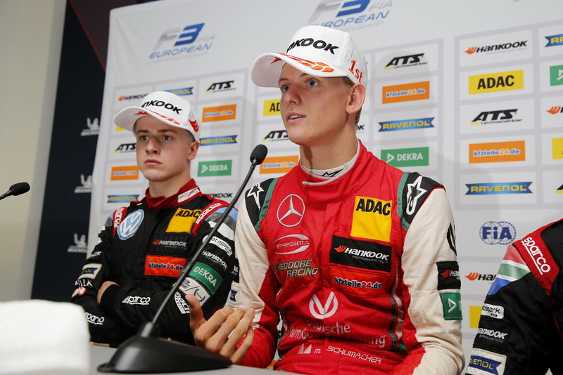 Conferencia de Prensa, Mick Schumacher, PREMA Theodore Racing Dallara F317 - Mercedes-Benz