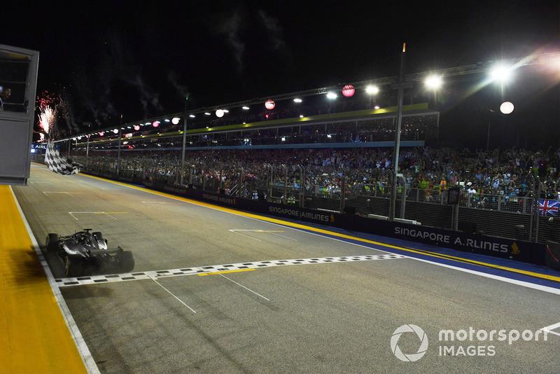 GP de Singapur: Lewis Hamilton