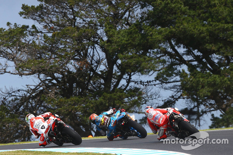 Danilo Petrucci, Pramac Racing, Tito Rabat, Estrella Galicia 0,0 Marc VDS, Andrea Dovizioso, Ducati Team
