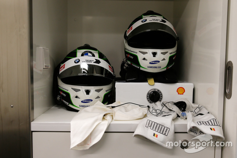 Helmet of  Maxime Martin, BMW Team RBM