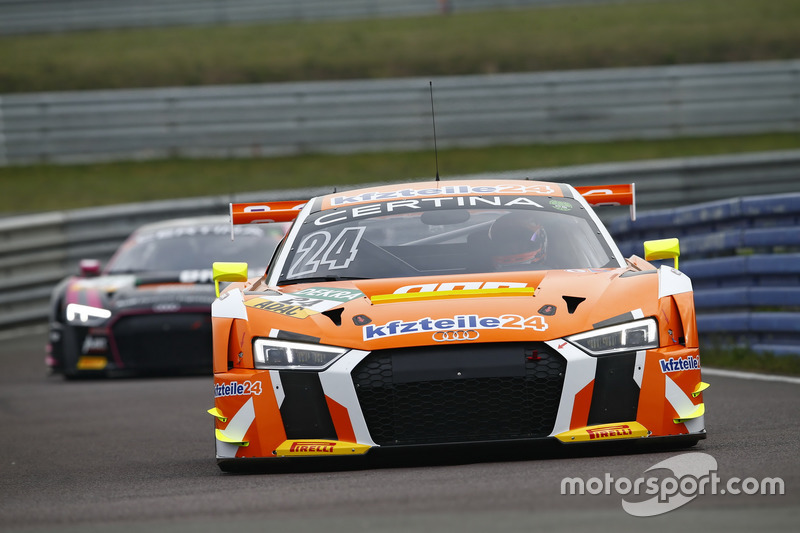 24 kfzteile24 apr motorsport audi r8 lms florian stoll laurens vanthoor at oschersleben. Black Bedroom Furniture Sets. Home Design Ideas