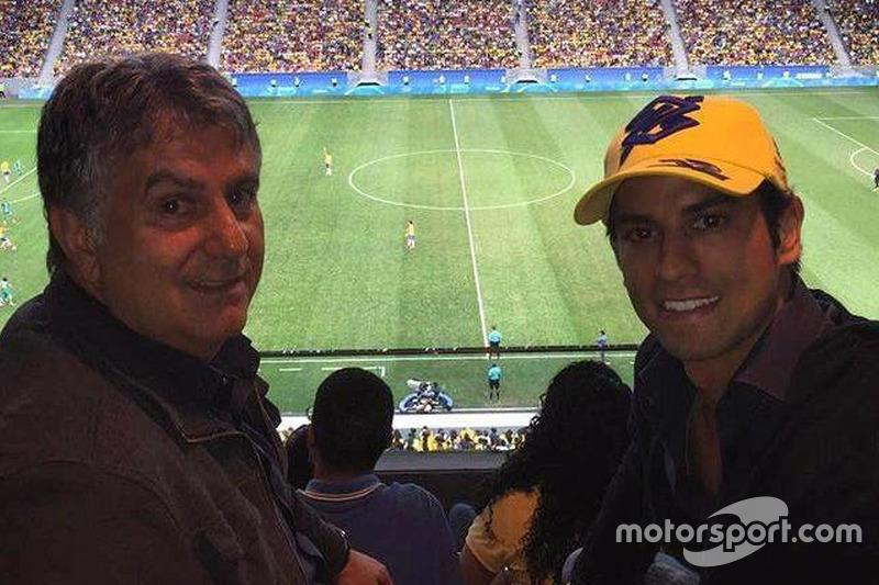 Felipe Nasr en el Brasil contra Iraq