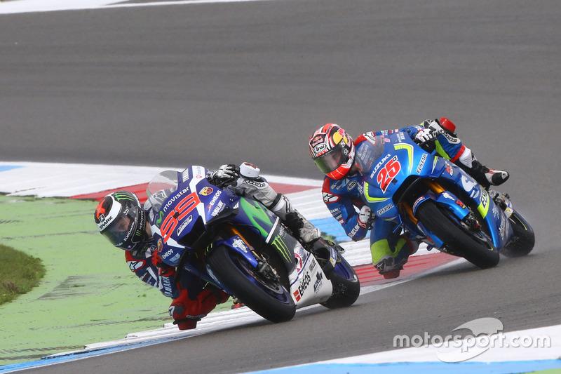Jorge Lorenzo, Yamaha Factory Racing y Maverick Viñales, Team Suzuki MotoGP