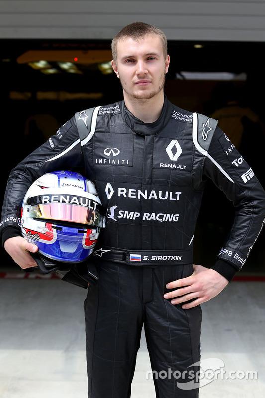Sergey Sirotkin, Renault Sport F1 Team Testfahrer