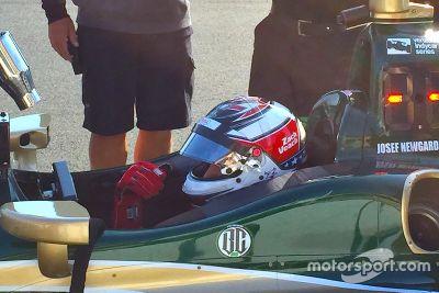 IndyCar-Test in Sonoma, September