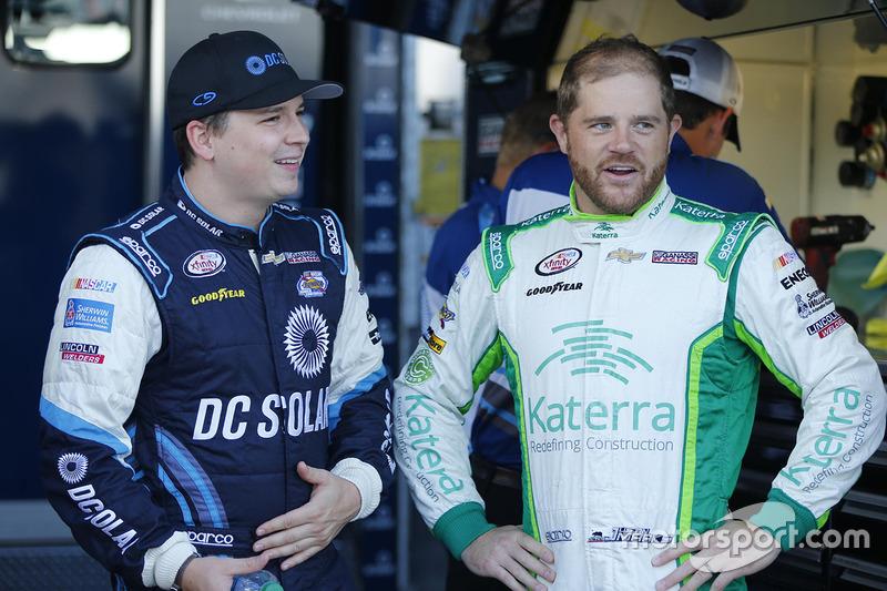 Brennan Poole, Chip Ganassi Racing Chevrolet, Justin Marks, Chip Ganassi Racing Chevrolet