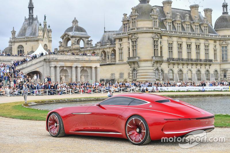10. Mercedes-Benz Vision Mercedes-Maybach 6