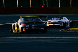 #85 AMG - Team HTP Motorsport Mercedes-AMG GT3: Indy Dontje, Clemens Schmid, Luciano Bacheta